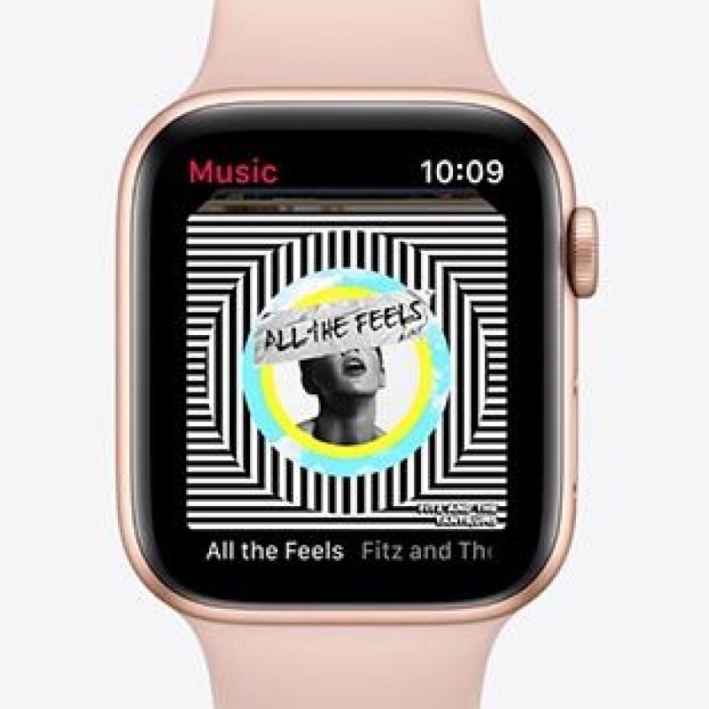 Apple Watch 5, GPS, Carcasa Gold Aluminium 44mm